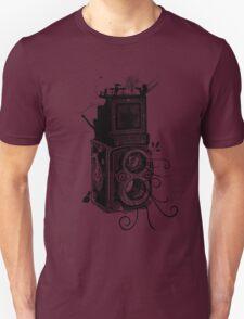 Retro Rolleiflex - Evolution of Photography - Vintage T-Shirt