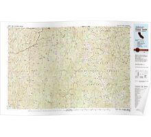 USGS Topo Map California Happy Camp 299090 1983 100000 Poster