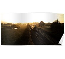 Sunset at Rewe Poster