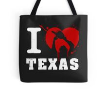 I Heart Texas (White) Tote Bag