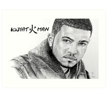 Kwyat Man by Arie van der Wijst Art Print