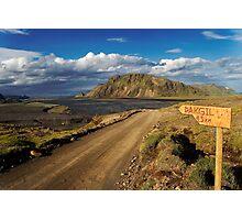 Road to Thakgil Photographic Print