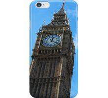 Blue Skies Over Elizabeth Tower iPhone Case/Skin