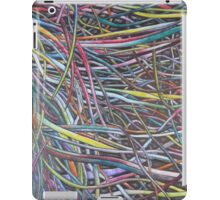 Multi-Colour Wire Art iPad Case/Skin