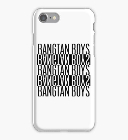 BTS/Bangtan Boys B&W iPhone Case/Skin