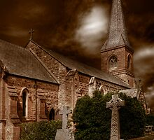 St John the Baptist - Sepia by raymac