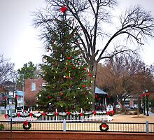 """""""A Tree Decorated At Christmas"""" by franticflagwave"""