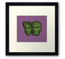 The Garbanzo Brothers Framed Print