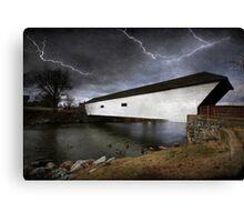 Doe River Crossing Canvas Print