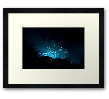 Up in the Air V. Framed Print