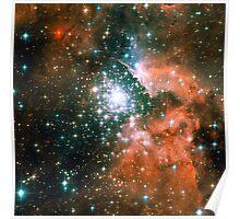 Kid Cudi Galaxy | Star Forming Region [NGC-3603] Poster