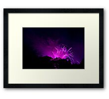 Up in the Air VI. Framed Print
