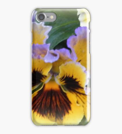 Pansy with Ears iPhone Case/Skin