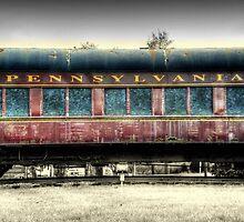 Pennsylvania Railway by Donnie Voelker