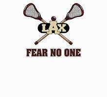 Lacrosse Fear No One Womens Fitted T-Shirt