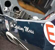 Stirling Moss Goodwood Revival by Andy Green