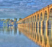 Old Railroad Bridge by Sharon Batdorf