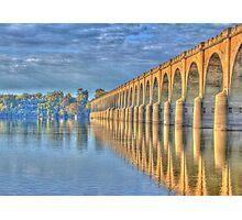 Old Railroad Bridge Photographic Print