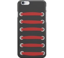 laced up red  iPhone Case/Skin
