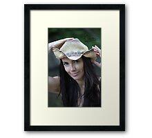 Bonanza Beauty . Doctor Faustus. Framed Print