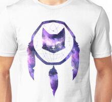 Galaxy Cat Dream Catcher Unisex T-Shirt
