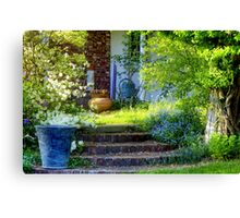 Welcome to Springtime in New England Canvas Print