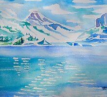 Heaven on Earth...Tibble Lake Reservoir in Utah by Kevin McGeeney