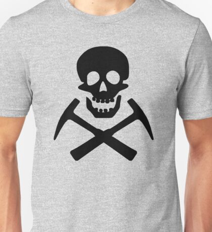 Skull & Cross Pick Hammers Unisex T-Shirt