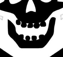 Skull & Cross Pick Hammers Sticker