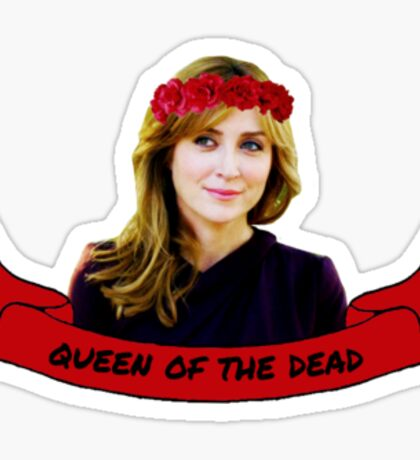 queen of the dead Sticker