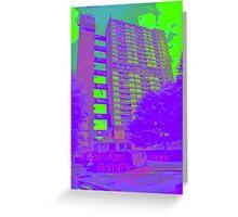 Balfron Tower, Erno Goldfinger, 1968 Greeting Card