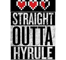 Straight Outta Hyrule Photographic Print