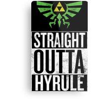 Straight Outta Hyrule V3 Metal Print