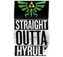 Straight Outta Hyrule V3 Poster