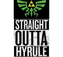 Straight Outta Hyrule V3 Photographic Print