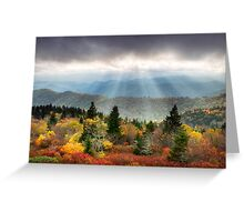 Blue Ridge Parkway Photography - Enlightenment Greeting Card