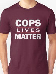 COPS LIVES MATTER. Chicago T-Shirt T-Shirt