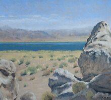 Pyramid Lake Plein Air Study by seidai