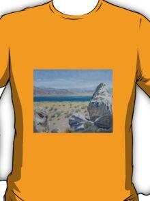 Pyramid Lake Plein Air Study T-Shirt