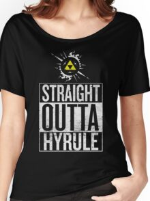 Straight Outta Hyrule V4 Women's Relaxed Fit T-Shirt