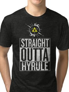 Straight Outta Hyrule V4 Tri-blend T-Shirt