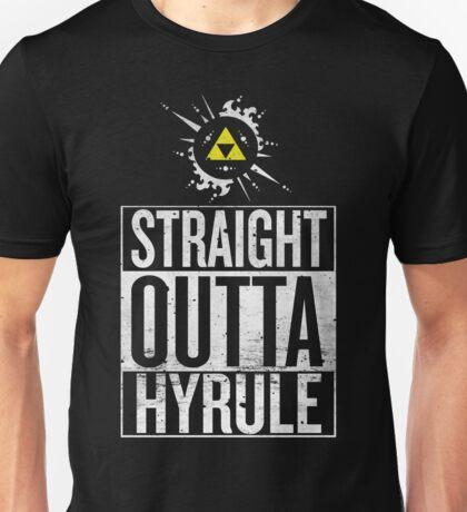 Straight Outta Hyrule V4 Unisex T-Shirt