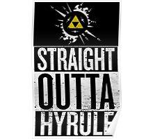 Straight Outta Hyrule V4 Poster