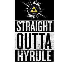 Straight Outta Hyrule V4 Photographic Print