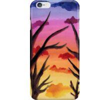 Inked Sunset iPhone Case/Skin