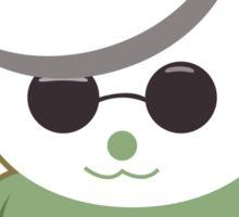 French Panda Sticker