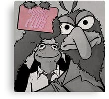 Muppet Fight Club Canvas Print