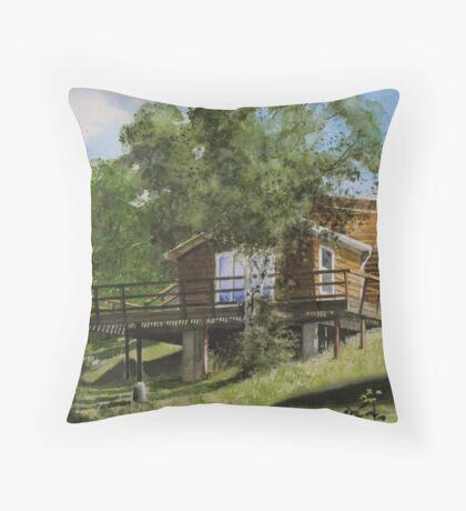 The McKie's Throw Pillow
