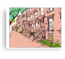Brooklyn Heights by day Canvas Print