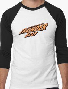 Thunder Bolt Men's Baseball ¾ T-Shirt